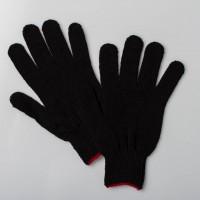 Перчатки ХБ черные люкс