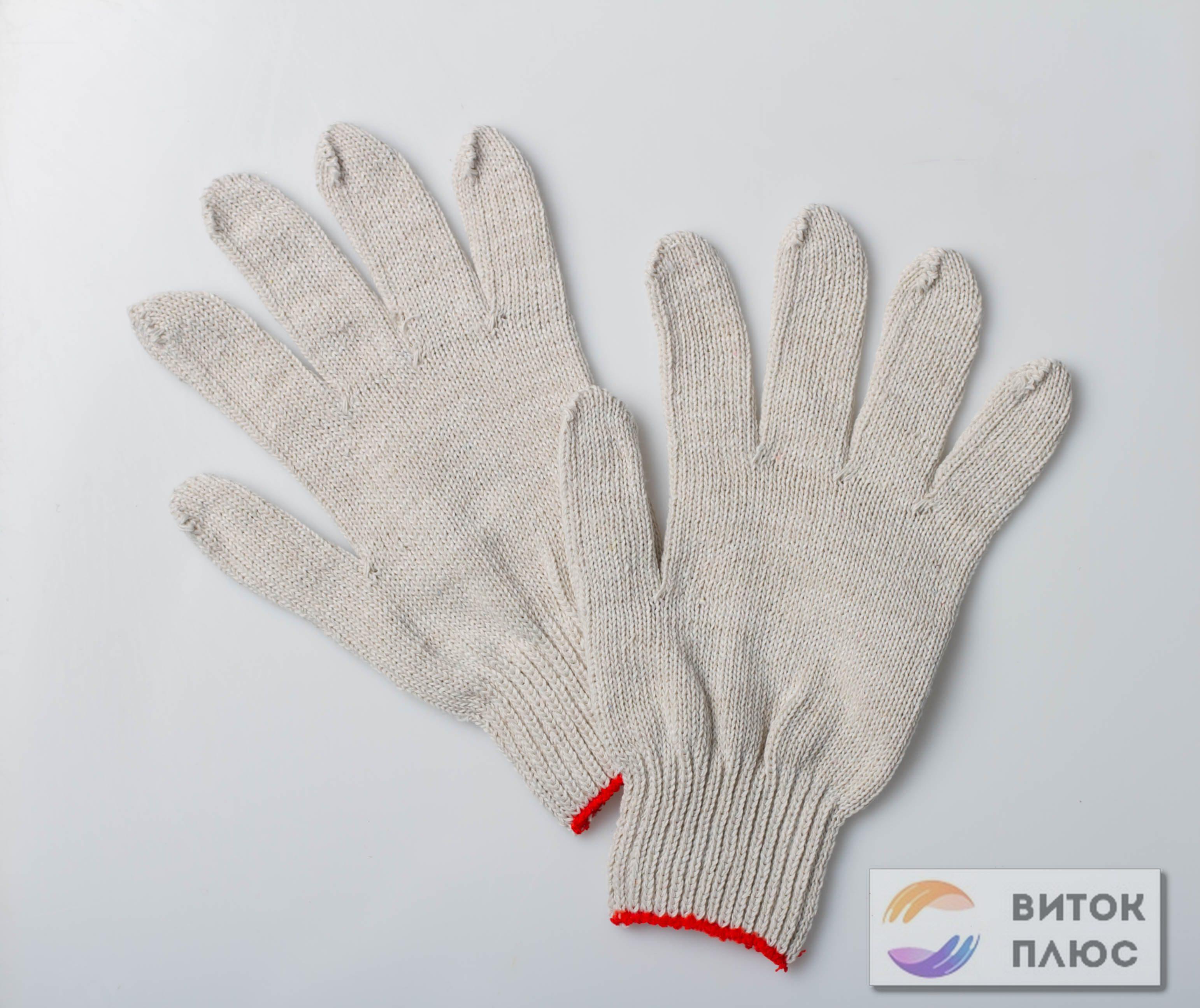 Перчатки ХБ люкс